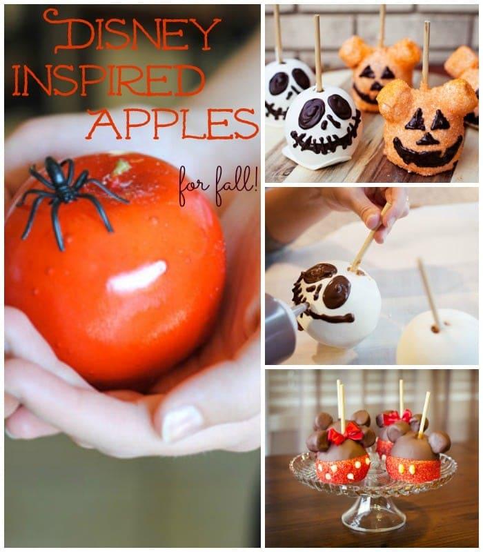 disney inspired apples