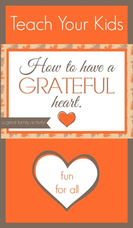 How to have a grateful heart!