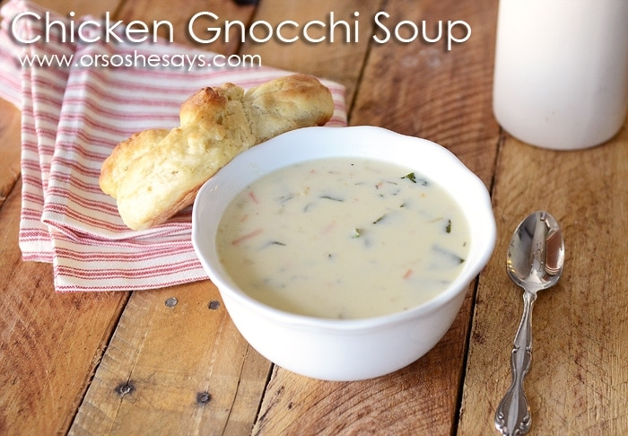 Chicken Gnocchi Soup 2