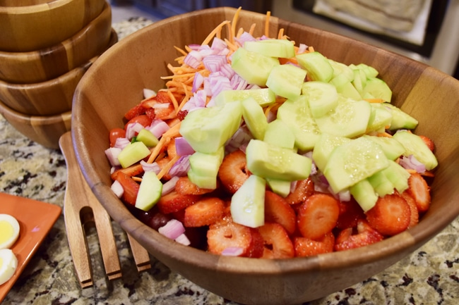 Heavenly Seven Veggie Salad 3