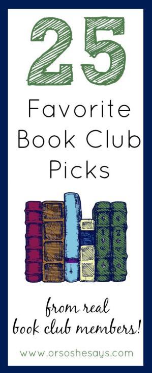 Top book club picks 2015