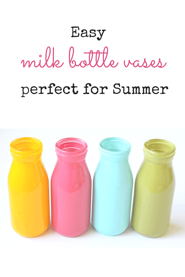 Milk bottle vases easy and perfect for summer she kristi these easy milk bottle vases are so perfect for summer reviewsmspy