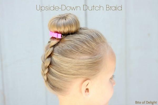 Upside Down Dutch Braid | Hair Tutorial