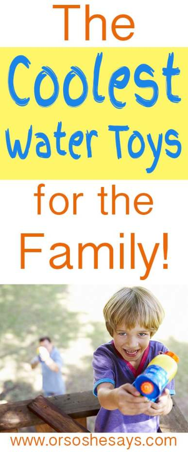 Water Fun for Kids ~ The coolest (and top rated) products out there!