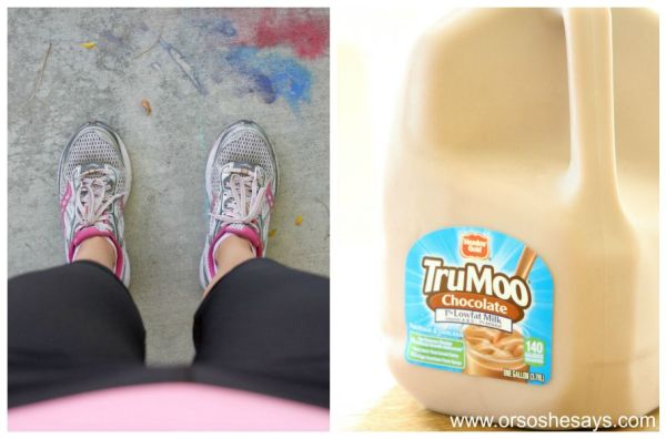 TruMoo Chocolate Milk Smoothie