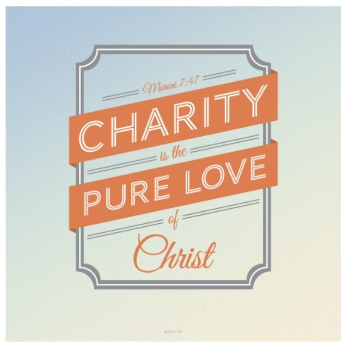 Why we should strive to have charity in marriage