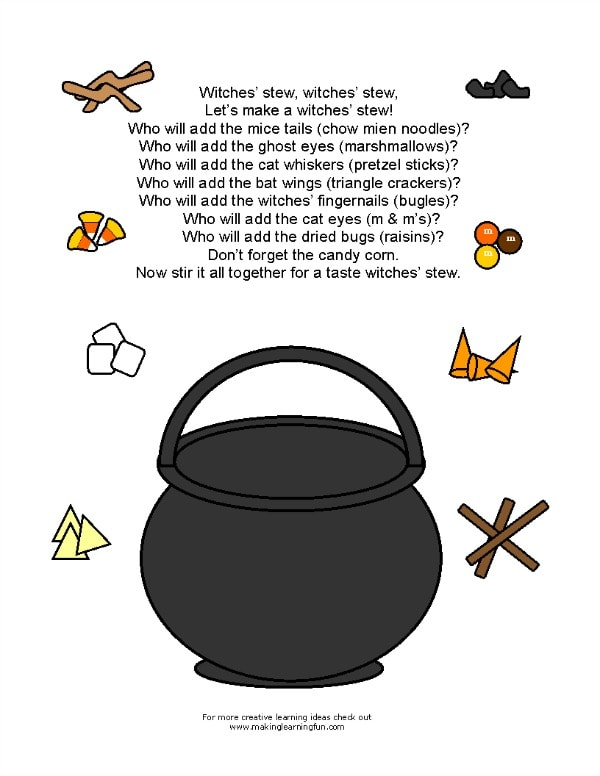 Witches' Stew poem