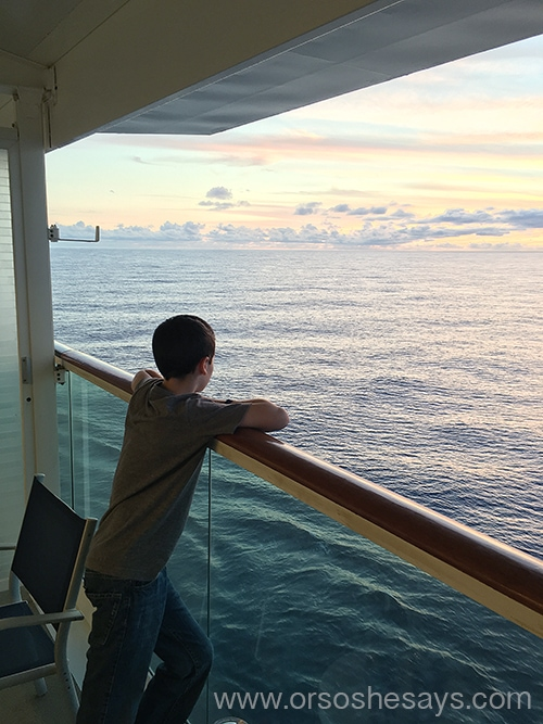 Mariel shares a special teaching moment she had with her son, on a recent cruise.  All about feeling peace in our lives. Stronger Than the Storm ~ www.orsoshesays.com