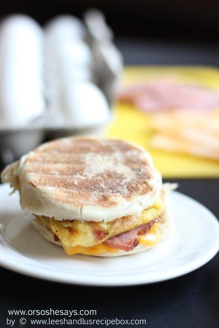 Omelet Style Breakfast Sandwiches (28) OSSS