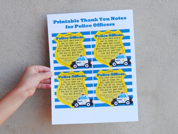 Respecting Police Officers may be of more importance now that ever before. There's a lot going on in the world today and this Family Night lesson aims to teach our children about the important work law enforcement does and how we can show our gratitude. There's also a free printable you can use to give out with treats for police officers.