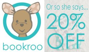 Learn about BookRoo's subscription book service in today's post, AND get an exclusive 20% off coupon code from www.orsoshesays.com!