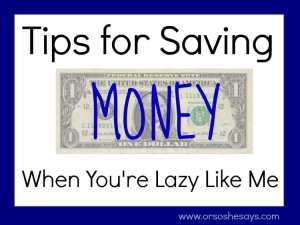 3 Tips for Saving Money When You're Lazy Like Me (she: Liv)
