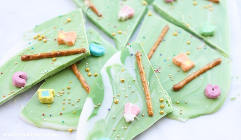 Leprechaun Bark Recipe – Get Ready for St. Patrick's Day (she: Liz)