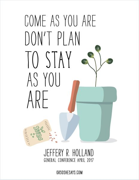 May 2017 Visiting Teaching Message - Get the free printable at www.orsoshesays.com