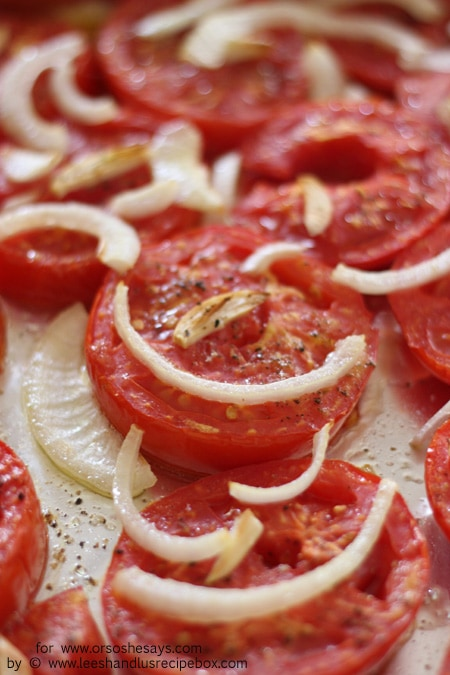 Anyone else have tomatoes coming out of their ears?? This sauce is a perfect and delicious way to put them to good use! Get the recipe on www.orsoshesays.com.