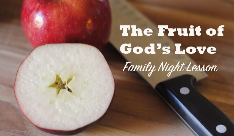 In this Family Night lesson, Adelle shares with her family the fruit of God's love, plus a recipe that will hopefully bring the point home to the kids! Get all the info at www.orsoshesays.com.