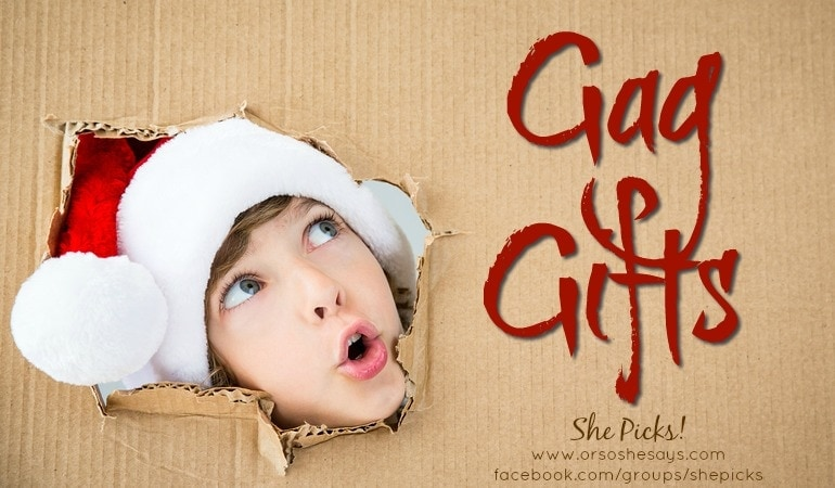 Gag Gifts for White Elephant Parties ~ She Picks! 2017 Gift Guide #shepicks