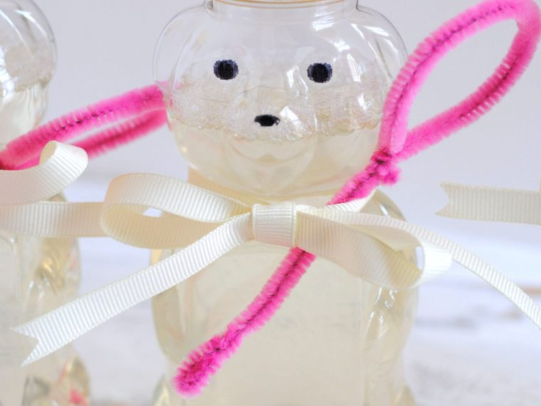 Honey Bottle Bubble Favors