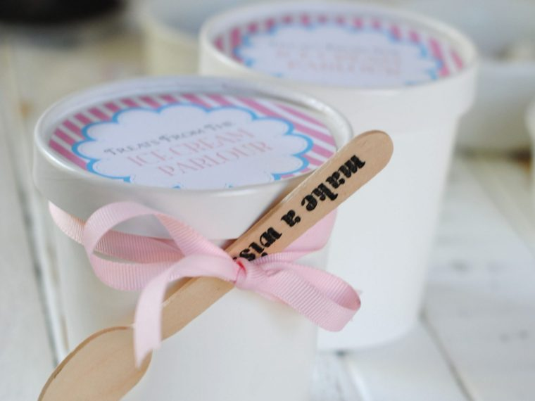 Ice Cream Sundae Favor Kits