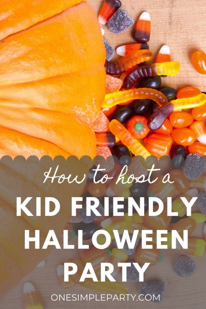 Kid Friendly Halloween Party