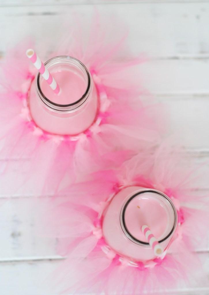 Ballerina tutu milk bottles