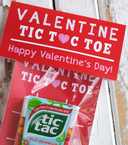 Free Printable Tic Tac Toe Valentine