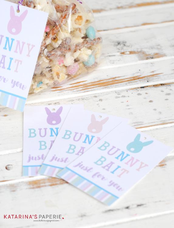 Free printable bunny bait tag