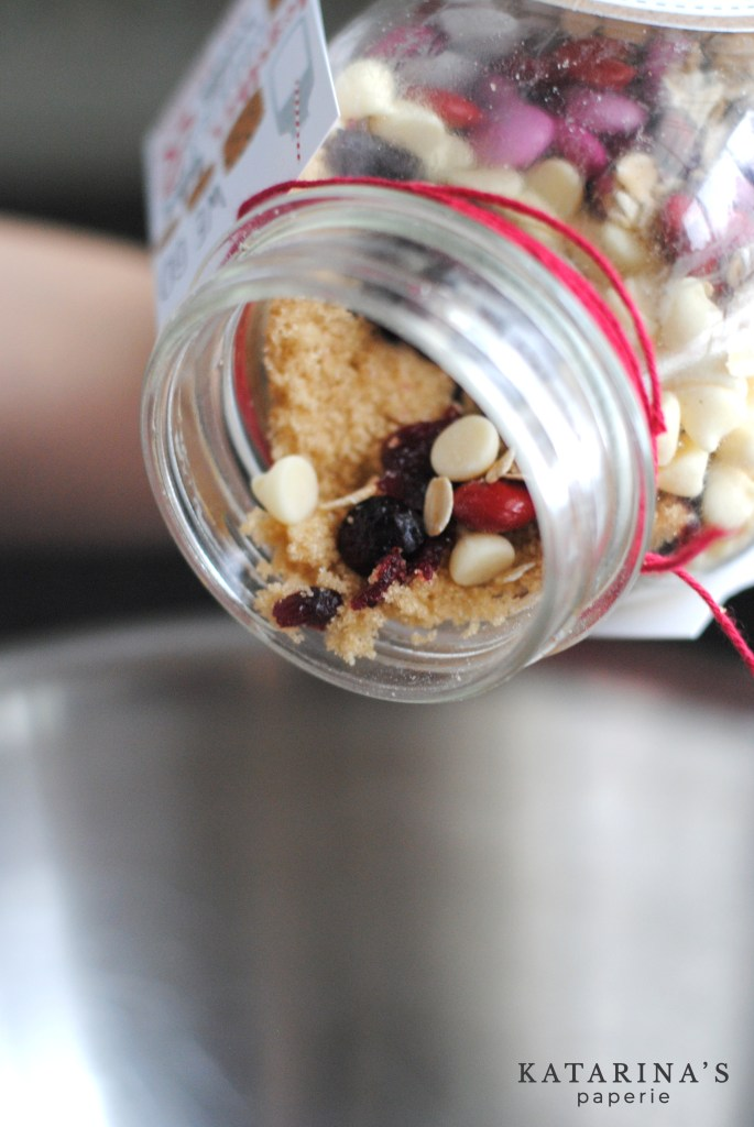 Our Valentine's Day cookies in a jar mix is easy to make and easy to give.