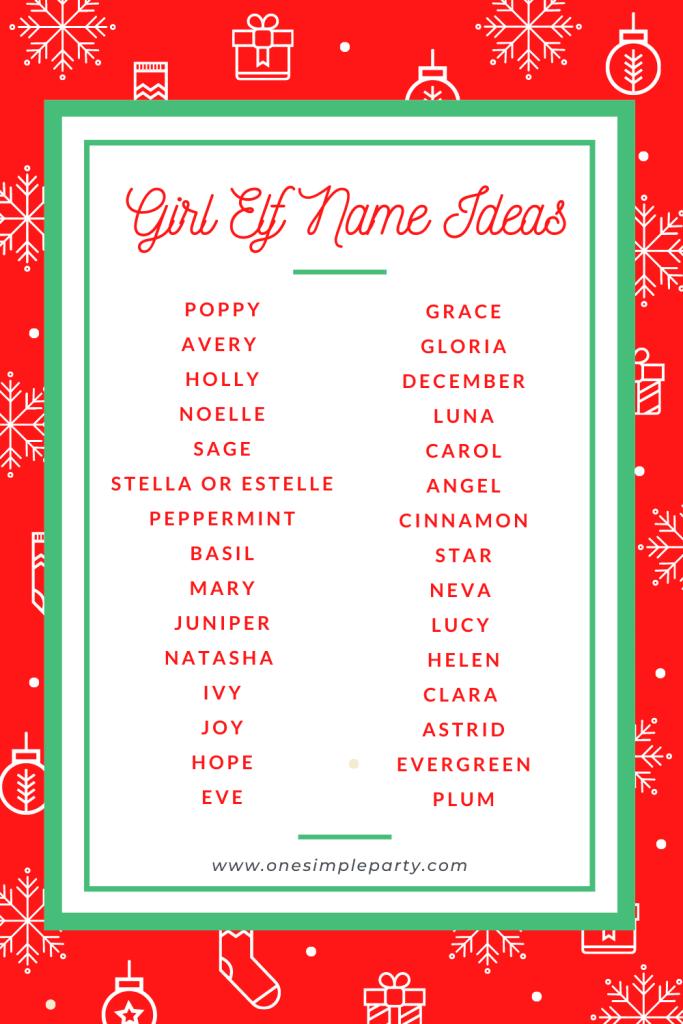 girl-elf-names