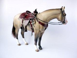 Cricket with mahogany saddle