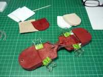 Saddlebags in progress