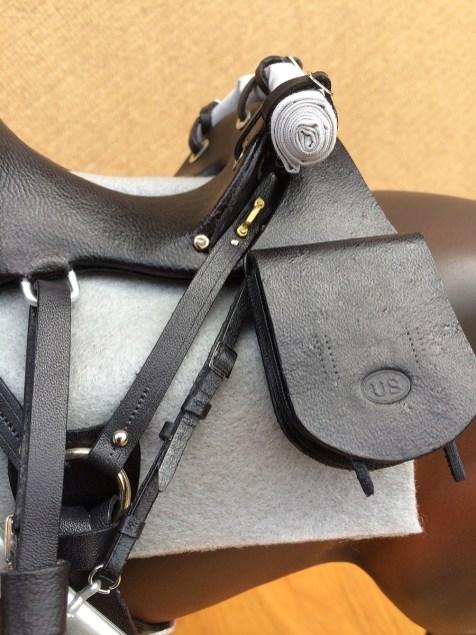 McClellan style cavalry saddle 1872/1874 - detail