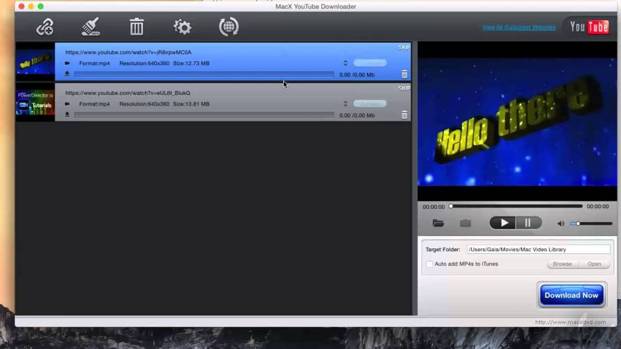MacX Youtube Downloader Free Download - OneSoftwares