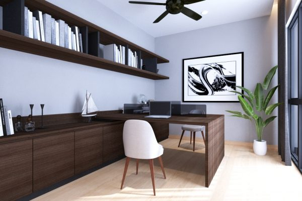 21 master bedroom study
