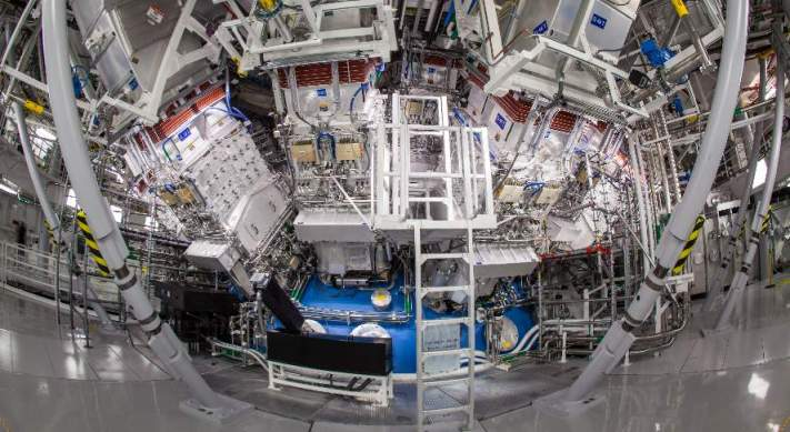 Laser hall at the National Ignition Facility (NIF), Lawrence Livermore