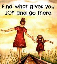 vreugde en geluk