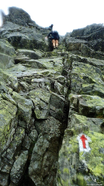 Podejście na Pośredni Granat - Tatry Wysokie