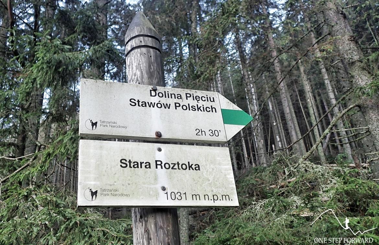 Stara Roztoka (1031 m n.p.m.)