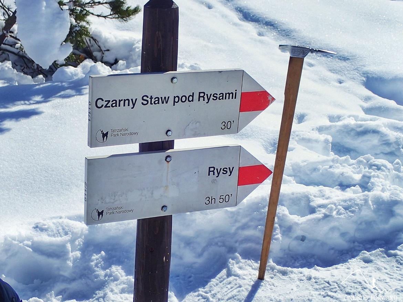 Szlak na Rysy i Czarny Staw pod Rysami