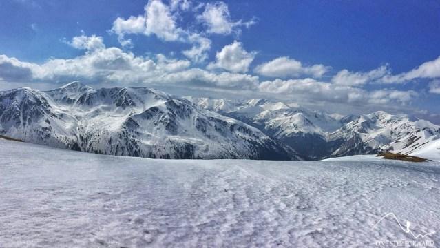 Przełęcz Liliowe - panorama
