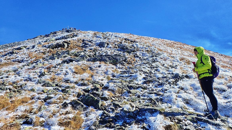 Podejście na Jarząbczy Wierch w Tatrach Zachodnich