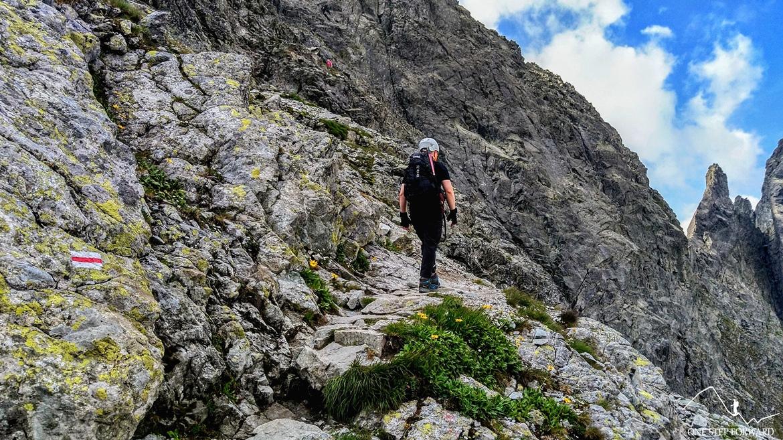 Widok na Żabiego Konia - szlak na Rysy z Palenicy Białczańskiej