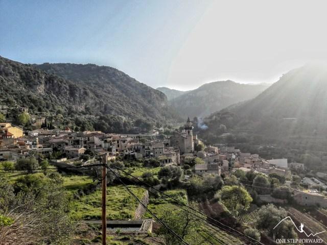 Valdemossa, Majorka - panorama na pobliską okolicę