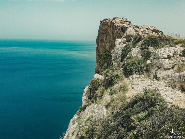 Droga na punkt widokowy Mirador des Colomer - Cap de Formentor, Majorka