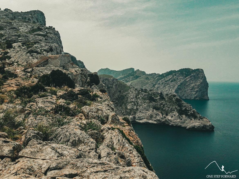 Okolice punktu widokowego Mirador des Colomer - Cap de Formentor, Majorka