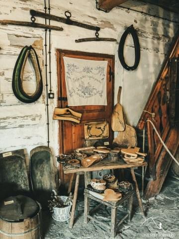 Lanckorona - Izba Regionalna - eksponaty muzealne