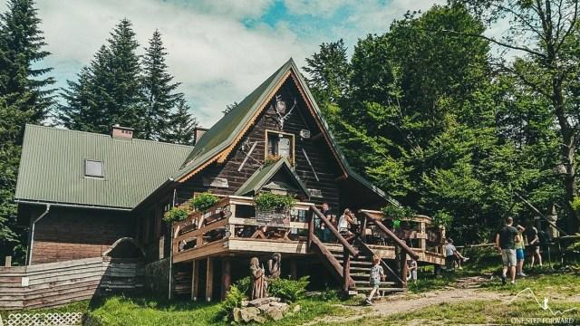 Lubomir - schronisko PTTK na Kudłaczach