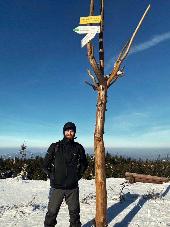 Skrzyczne (1257 m n.p.m.) - szczyt - Korona Gór Polski