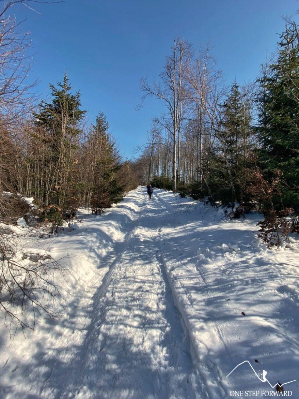 Szlak na Czupel - ostateczne podejście