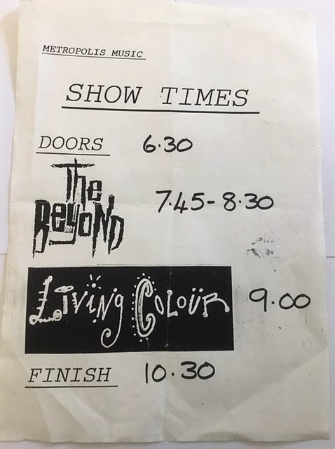 stage times poster